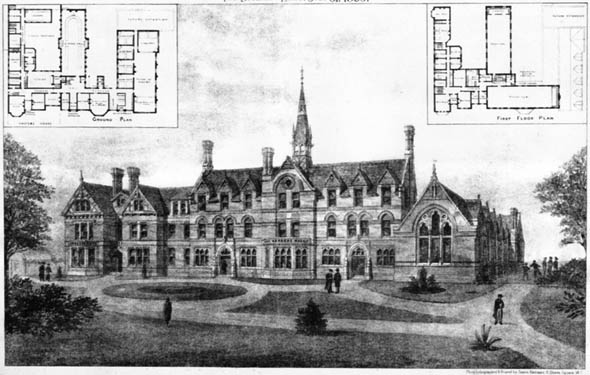 1885 &#8211; Wesleyan College, Canterbury, Kent