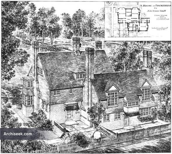 1885 – House at Beckenham, Kent