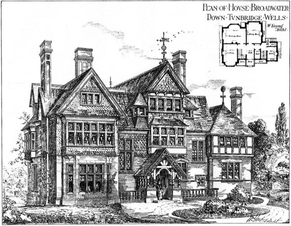 1878 – House, Broadwater Down, Tunbridge Wells, Kent