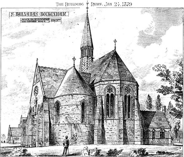 1879 &#8211; St. Barnabas Church, Beckenham, Kent