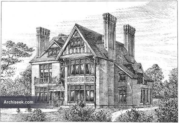 1886 – House at Shortlands, Kent