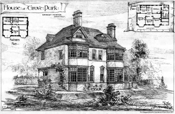 1879 &#8211; House at Grove Park, Kent