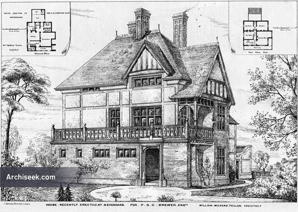 1878 – House, Sevenoaks, Kent