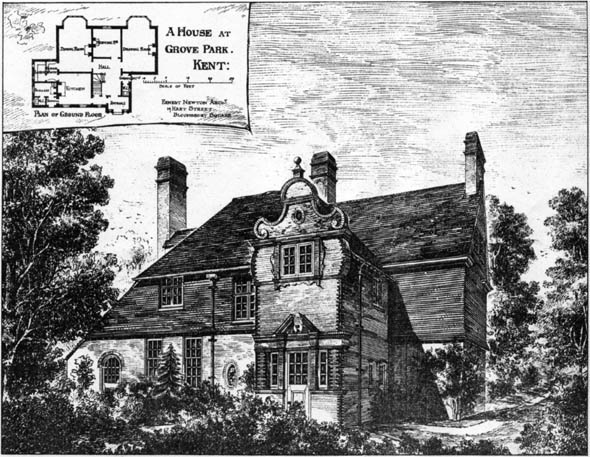 1883 – House, Grove Park, Kent