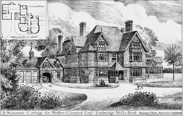 1884 – Summer Cottage, Tunbridge Wells, Kent