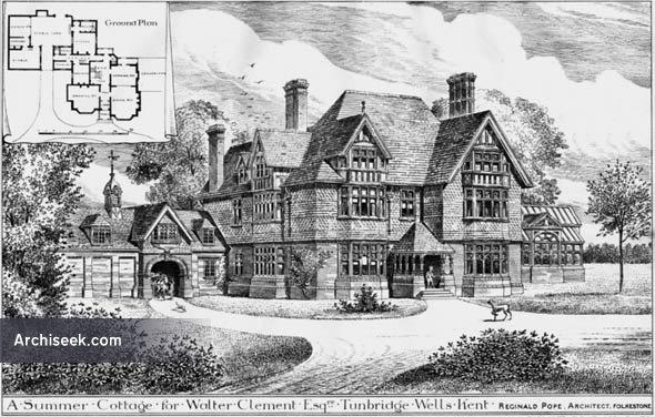 1884 – Summer Cottage, Tunbridge Wells, Kent