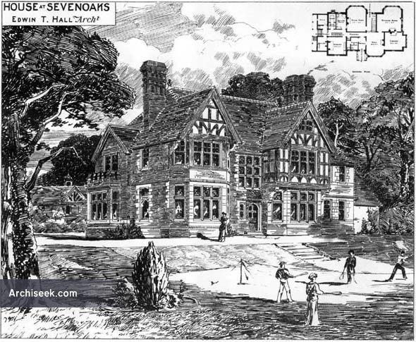 1883 – House, Sevenoaks, Kent