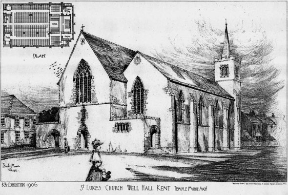 1906 &#8211; St. Lukes Church, Well Hall, Kent