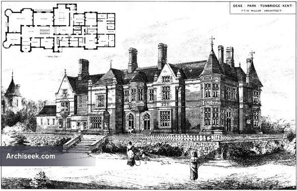 1885 – Dene Park, Tunbridge, Kent