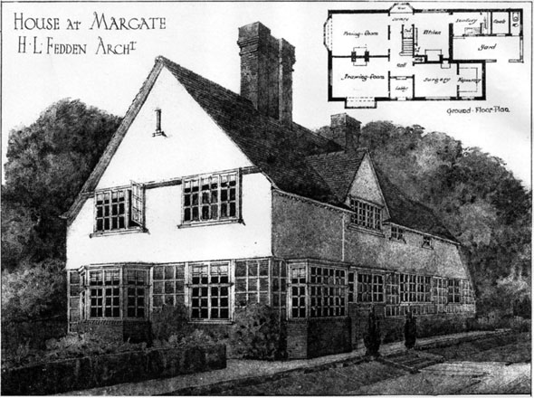 1905 &#8211; House at Margate, Kent