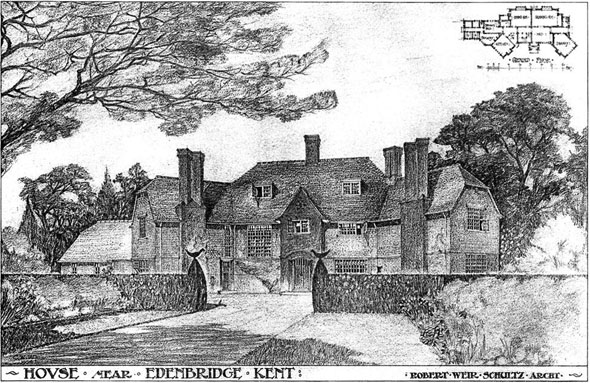 1905 &#8211; House, Edenbridge, Kent