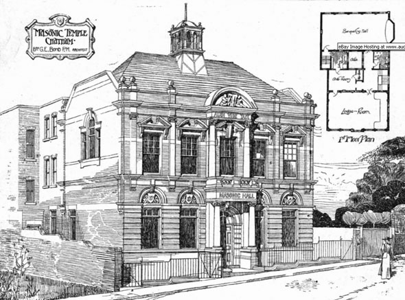 1906 &#8211; Masonic Temple, Chatham, Kent