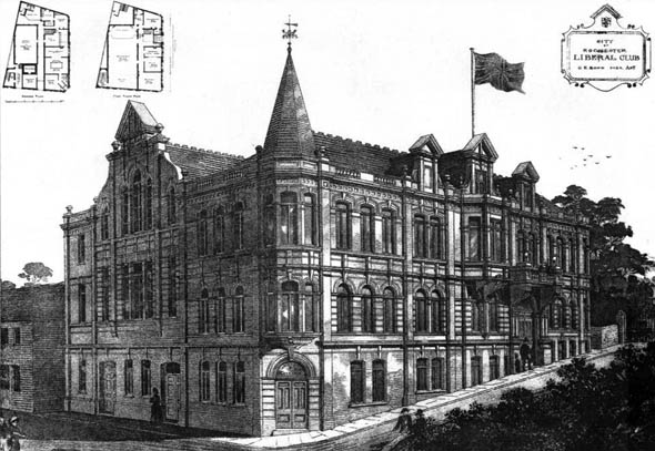 1888 &#8211; Liberal Club, Rochester, Kent