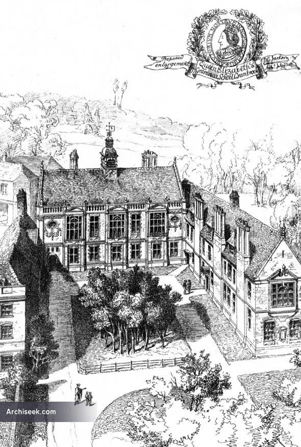 1884 – Queen Elizabeths Grammar School, Cranbrook, Kent