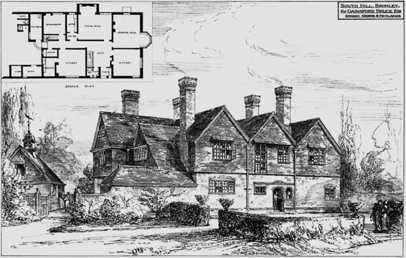 1881 – South Hill, Bromley, Kent