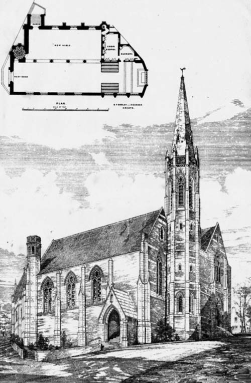 1884 – St. Michael's Church, Folkestone, Kent