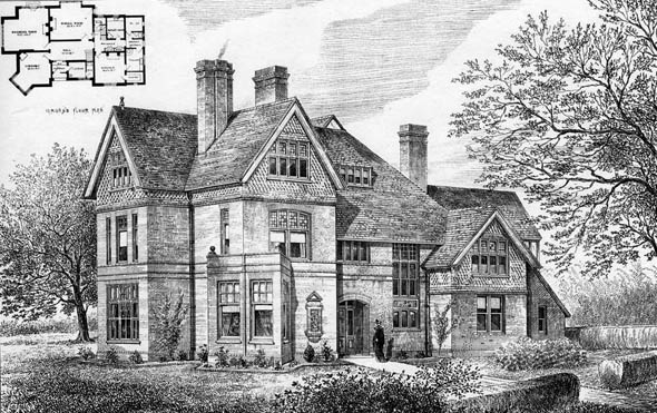 1879 &#8211; House, Sevenoaks, Kent