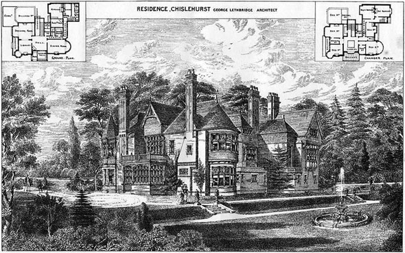 1879 &#8211; Residence, Chislehurst, Kent