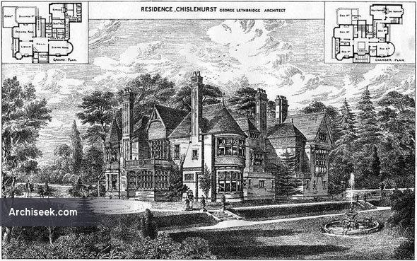 1879 – Residence, Kemnal Rd., Chislehurst, Kent