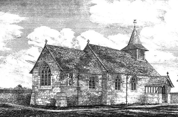 1875 &#8211; Church, Matfield, Kent