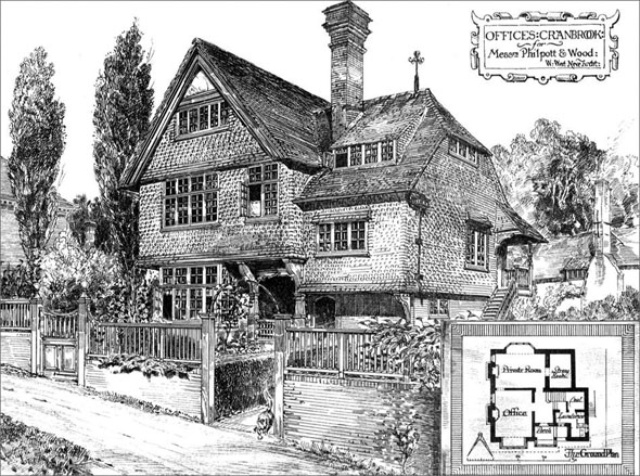 1880 – Offices at Cranbrook, Kent