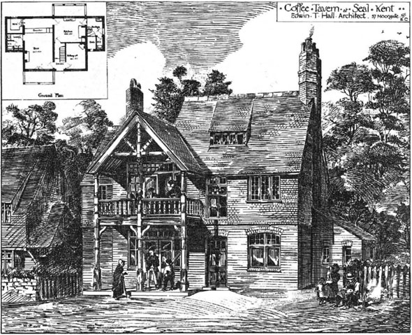 1881 – Coffee Tavern at Seal, Kent