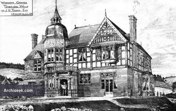 1886 – Wybourne Grange, Tunbridge Wells, Kent