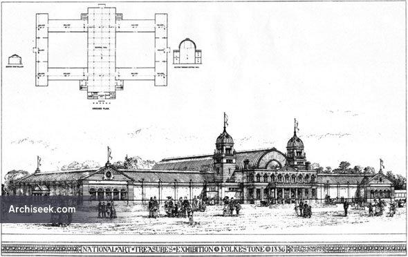 1886 – National Art Treasures Exhibition, Folkestone, Kent