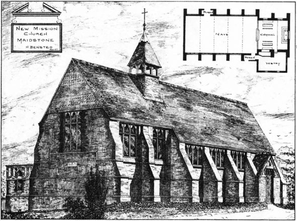 1884 – New Mission Church, Maidstone, Kent
