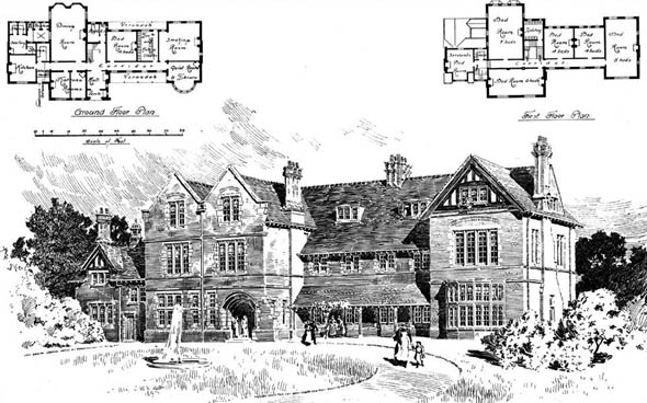 1897 &#8211; Passmore Edwards Convalescent Home, Herne Bay, Kent