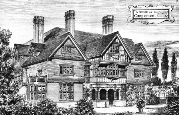 1883 &#8211; House, Chislehurst, Kent