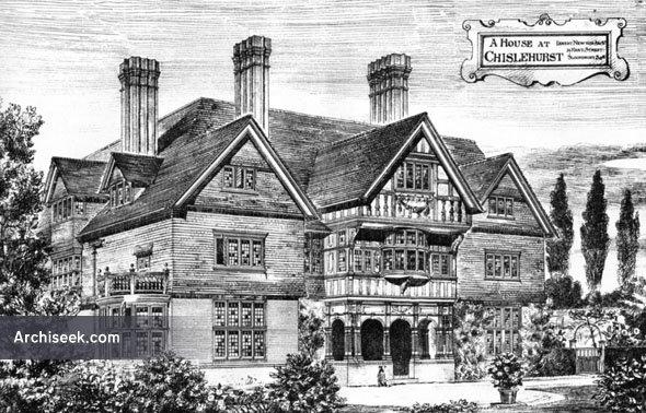 1883 – House, Chislehurst, Kent