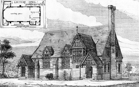 1875 – Lecture Hall, Hawkhurst, Kent