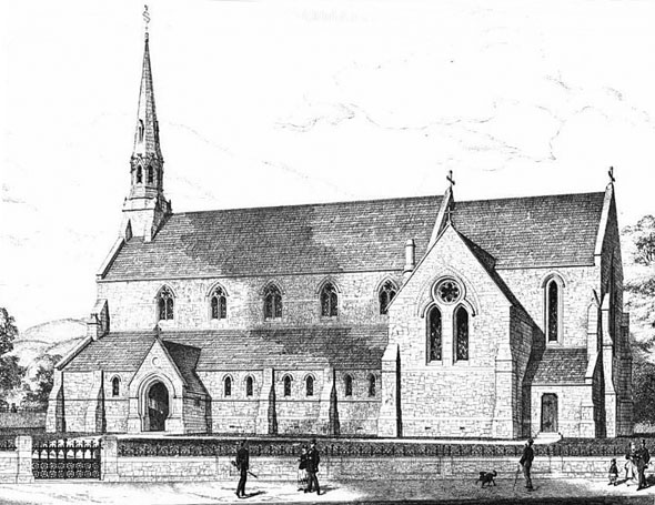 1869 &#8211; St. Mary&#8217;s Church, Stroud, Kent