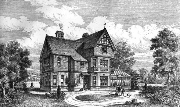 1883 – House, Mottingham Park, Eltham, Kent
