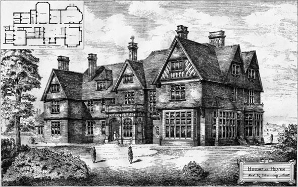 1886 &#8211; House at Hayes, Kent