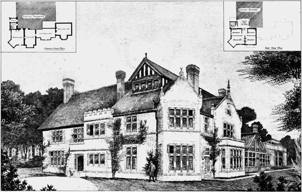 1892 &#8211; Residence, Ightham Park, Sevenoaks, Kent