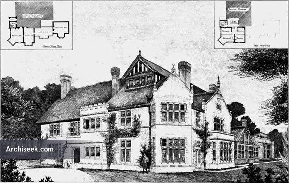1892 – Residence, Ightham Park, Sevenoaks, Kent