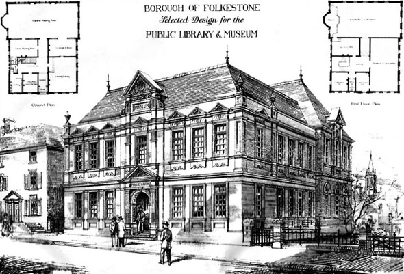 1886 – Public Library & Museum, Folkestone, Kent