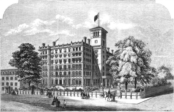 1864 – Clarence Hotel, Dover, Kent