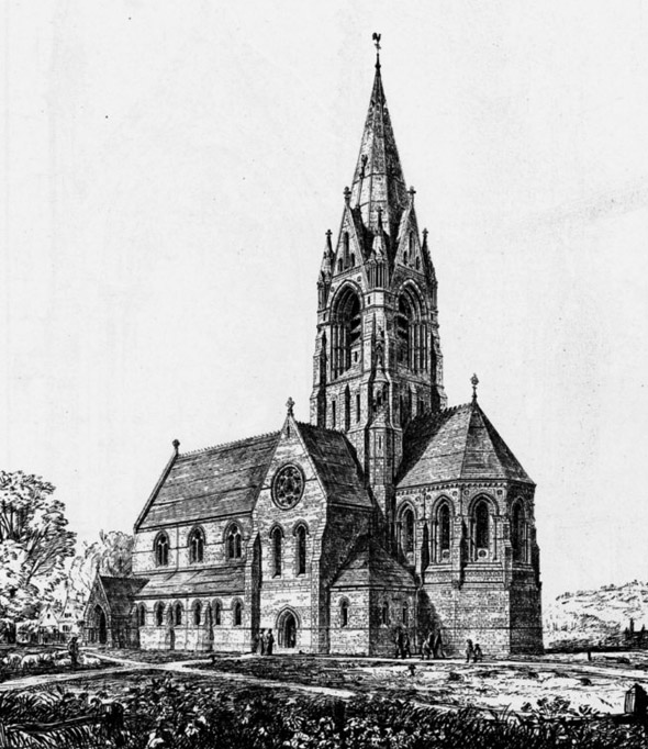 1871 &#8211; Christ Church, Bexleyheath, Kent