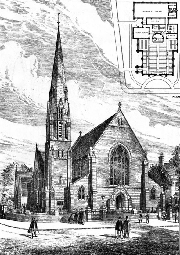 1888 – New Congregational Church, Beckenham, Kent