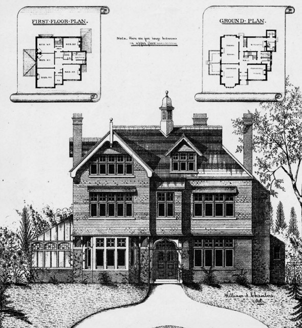 1888 &#8211; New Houses, Sandshurst Road, Tunbridge Wells, Kent