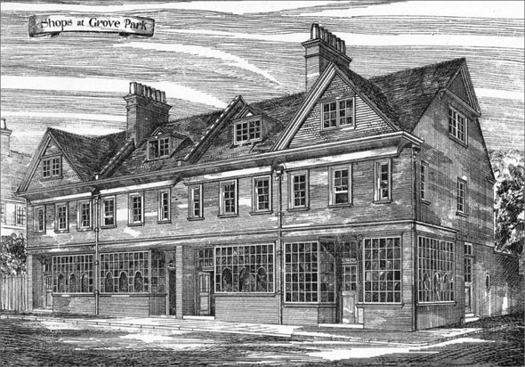 1883 &#8211; Shops, Grove Park, Kent