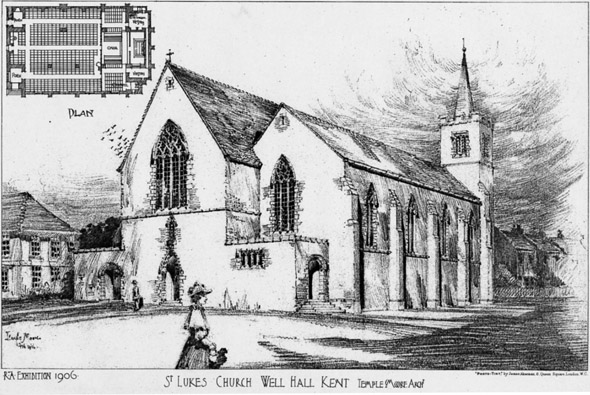 1906 &#8211; St Luke&#8217;s Church, Well Hall, Kent