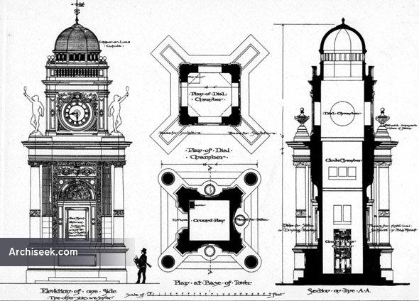 1888 – Design for Clock Tower, Margate, Kent