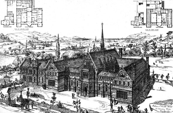 1876 – Design for The Borden School, Kent