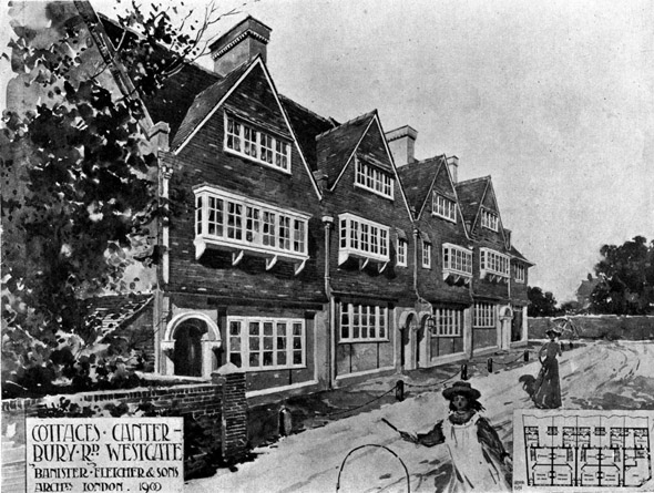 1901 &#8211; Cottages, Canterbury Road, Westgate-on-Sea, Kent