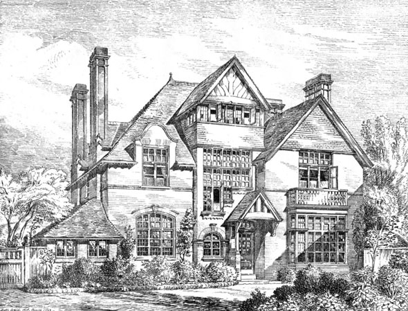 1883 &#8211; Country House, Bromley, Kent