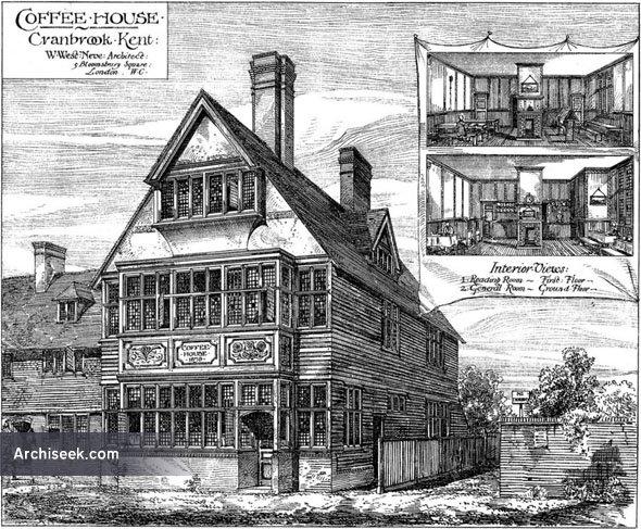 1880 – Coffee Tavern, Cranbrook, Kent